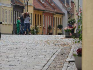 Denmark, Odense – street, August 2012