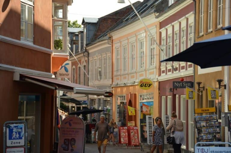 About two hours in Svendborg