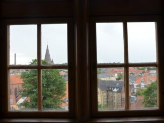 Denmark, Kolding – view from window, Aug.2012