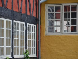 Denmark, Kolding – windows, Aug.2012