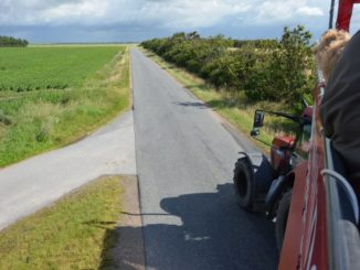 Denmark, Mando – road, July 2012