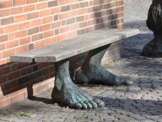 Denmark, Odense – feet, August 2012