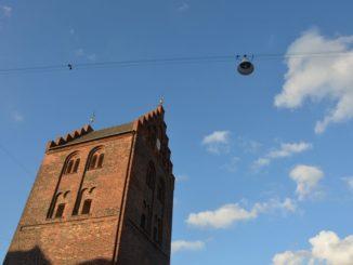 Denmark, Odense – sky, August 2012