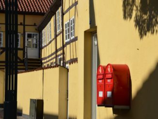 Denmark, Odense – post boxes, August 2012