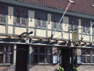 Denmark, Odense – old house, August 2012