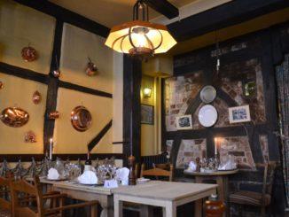 Denmark, Odense – inside restaurant, August 2012
