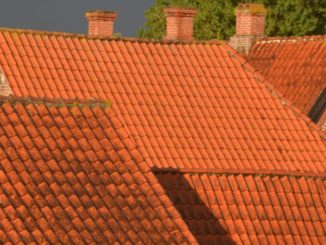 Denmark, Ribe – orange roofs, July2012