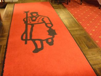Denmark, Ribe – floor of hotel, July2012