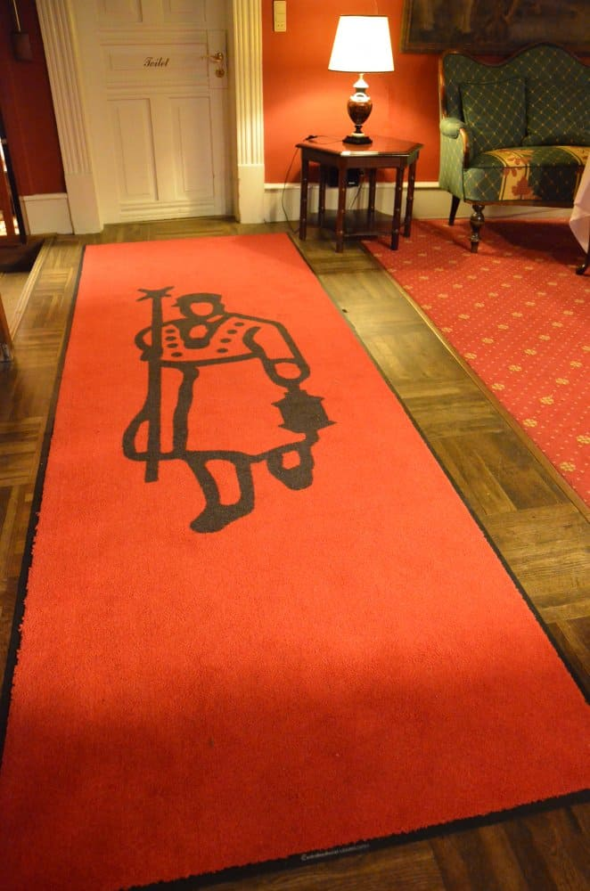 Denmark, Ribe – floor of hotel, July2012 (Ribe)