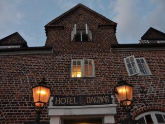 Denmark, Ribe – hotel, July 2012