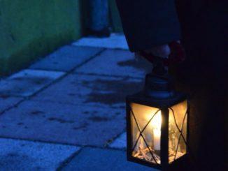 Denmark, Ribe – lantern, July2012