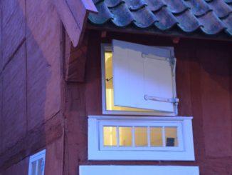 Denmark, Ribe – strange windows, July2012