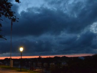 Denmark, Ribe – clouds, July2012