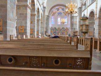 Denmark, Ribe – inside church, July2012