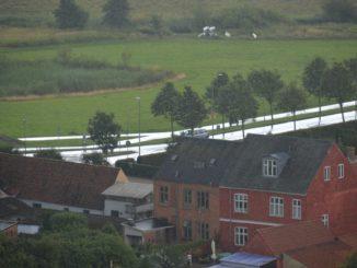 Denmark, Ribe – shiny road, July2012
