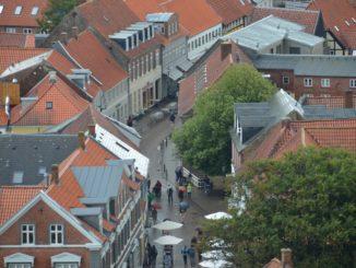 Denmark, Ribe – street, July 2012