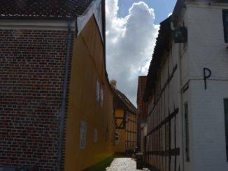 Denmark, Ribe – the sun, July2012
