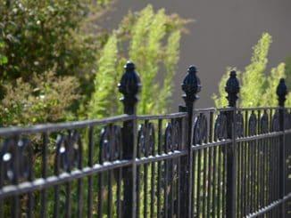 Denmark, Ribe – fence, July2012