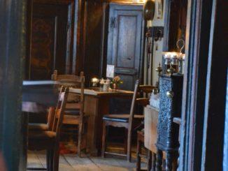Denmark, Ribe – old restaurant, July 2012
