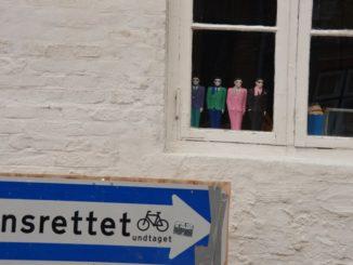 Denmark, Ribe – 4 dolls, July 2012