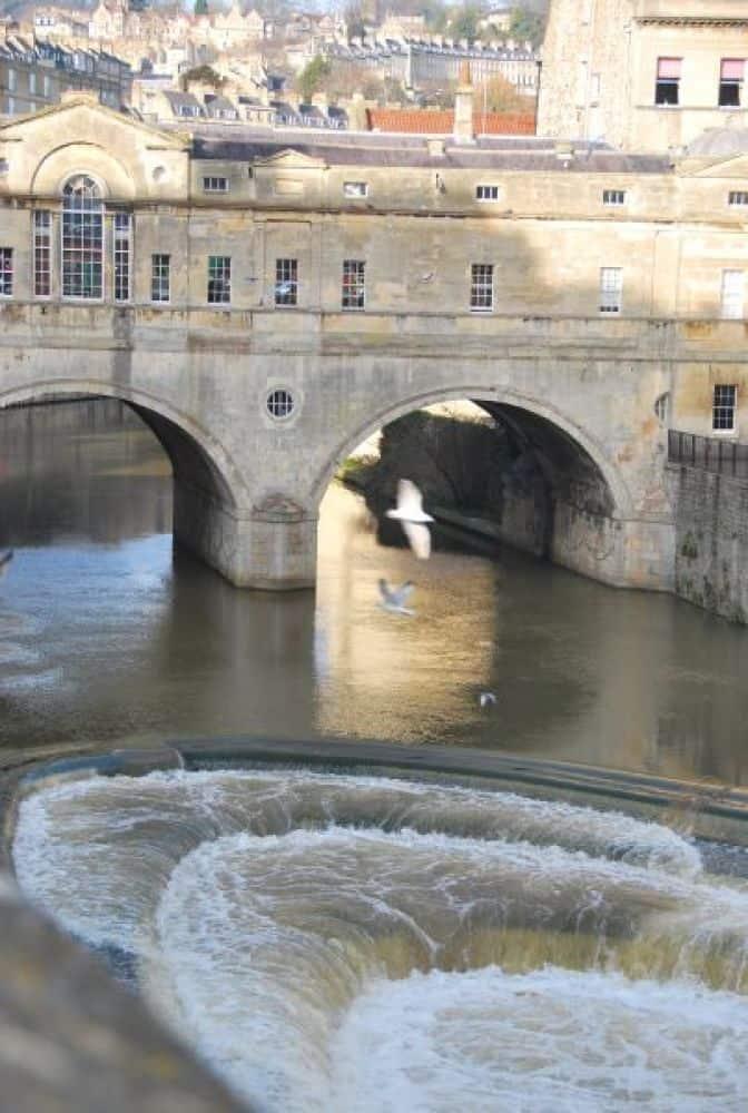 Bath, very busy town
