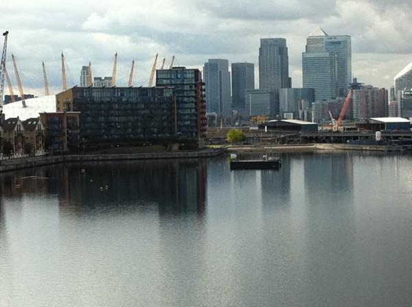 Dockland a Canary Wharf a Londra