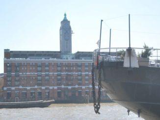La famosa torre OXO a Londra