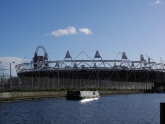 This is the Olympic Stadium everyone watched