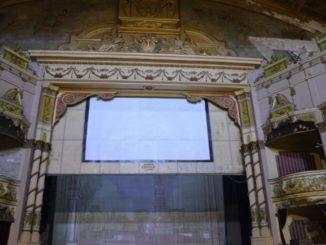 Il teatro che aspetta di essere restaurato