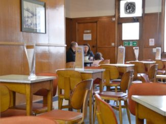 Old fashioned coffee shop
