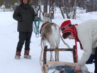 フィンランド、イナリ-サーミ族の夫婦 2006年