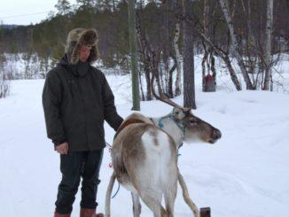 フィンランド、イナリ-サーミ族の男 2006年