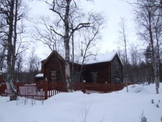 Finland, Inari – wooden church, 2006