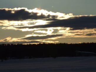 フィンランド、イナリ-雲 2006年