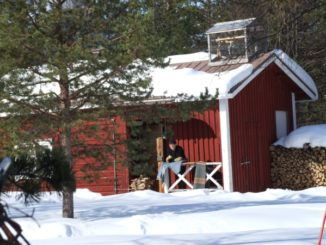 フィンランド、イナリ-赤い家 2006年
