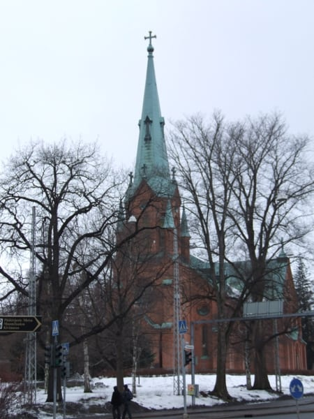 The town of Tampere