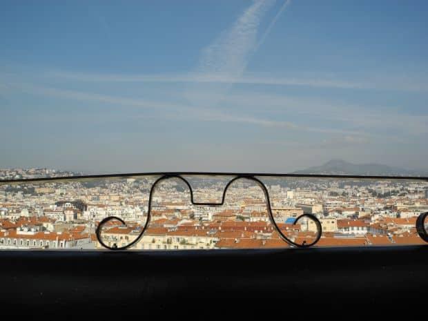 Vista dalla ruota panoramica a Nizza
