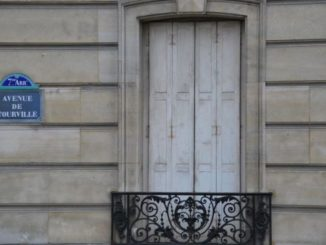 France, Paris – closed window, 2012