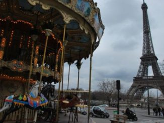 France, Paris – carousel, 2012