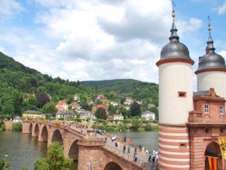Germany, Heidelberg – bridge, 2011