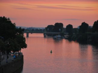 Germany, Heidelberg – sunset, 2011