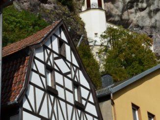 Una chiesa costruita nella roccia