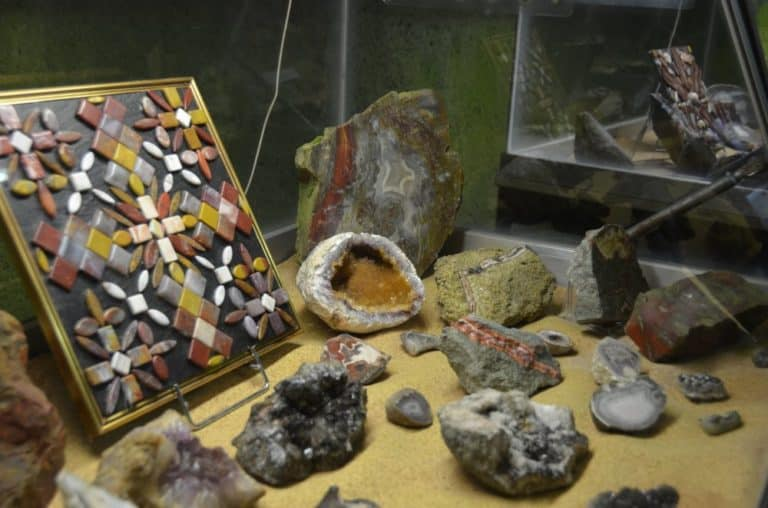 Visit a gemstone mine