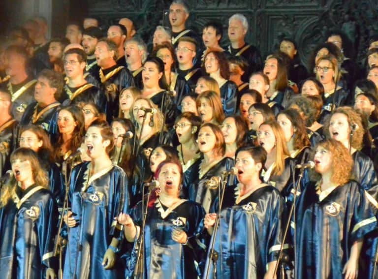 A Gospel Choir of 500 Voices