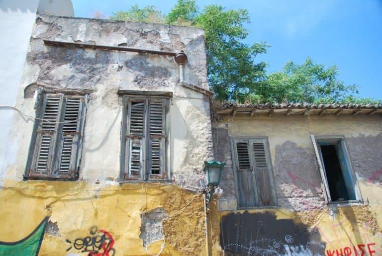 Grecia, Atene – abbandonato, agosto 2009 (Atene)