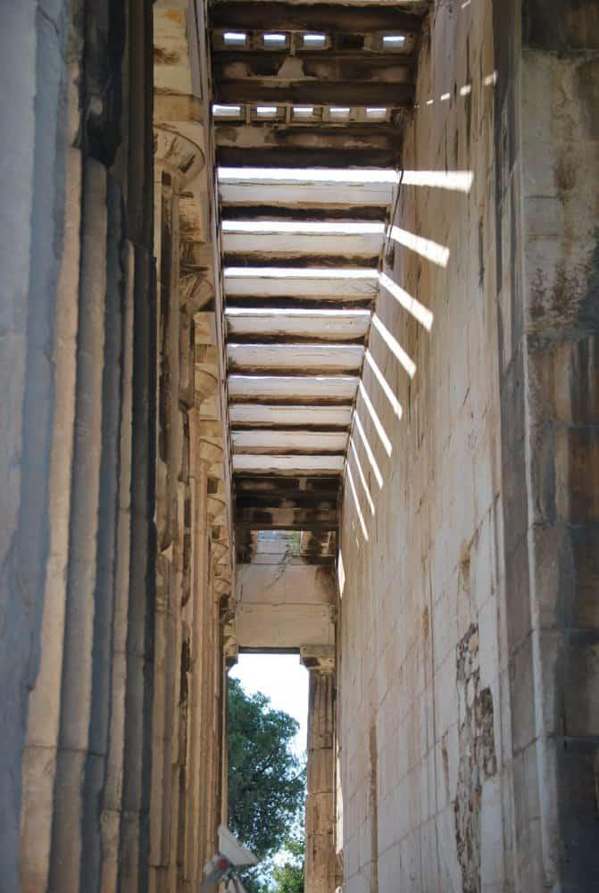 Grecia, Atene – rovine 1, agosto 2009 (Atene)