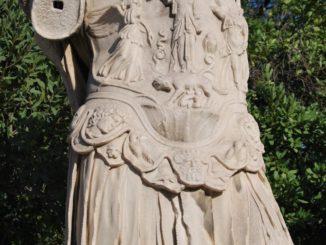 Greece, Athens – ruin 1, Aug.2009