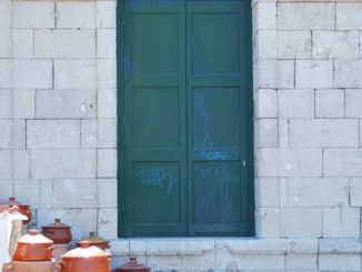 Greece, Chania – veranda, Aug.2009