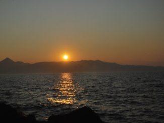 Il bel tramonto di Irakleio