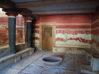 Sadness in Knossos Palace